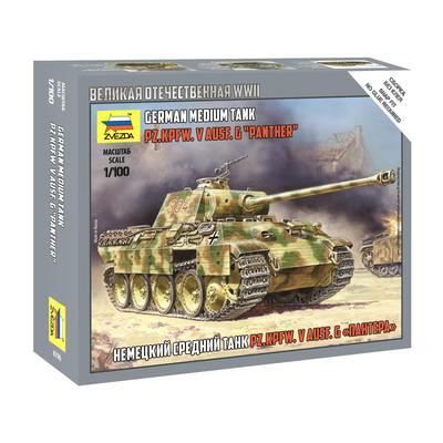 Сборная модель Звезда Немецкий средний танк Т-V A Пантера