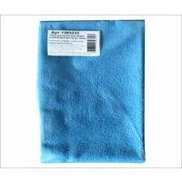 Тряпка для пола микрофибра 50х60 см синяя 280 г/кв.м