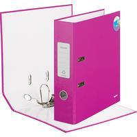 Папка-регистратор Leitz 180° 80 мм розовая