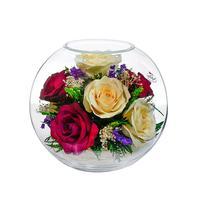 Композиция из натуральных роз Natural Flower BNR5c2