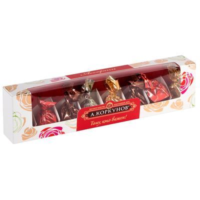 Уценка. Шоколадные конфеты А.Коркунов ассорти 73 г