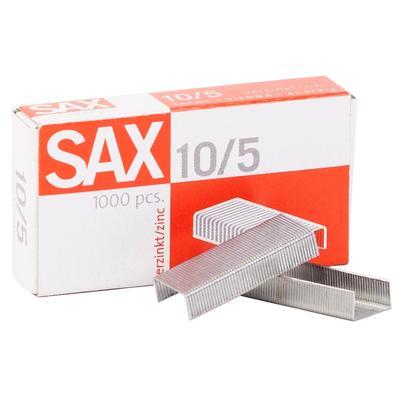 Скобы для степлера №10 Sax оцинкованные (1000 штук в упаковке)