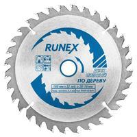 Диск пильный Runex по дереву 160х20/16 мм Z32 (551005)