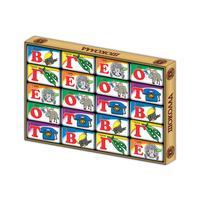 Подарочный набор шоколадок Глобус Про Русский алфавит 100 г