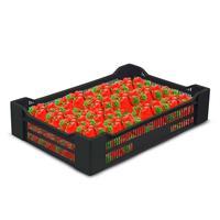 Ящик (лоток) ягодный из ПНД 600x400x135 мм черный