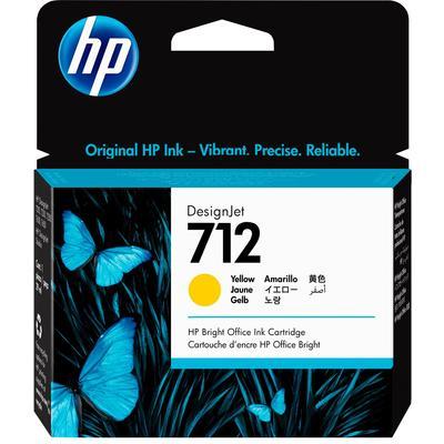 Картридж струйный HP 712 3ED69A желтый оригинальный