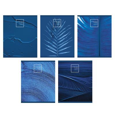 Тетрадь общая Канц-Эксмо Магия синего цвета А5 96 листов в клетку на скрепке (обложка в ассортименте)