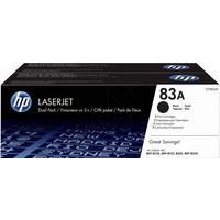 Картридж лазерный HP 83A CF283AF черный оригинальный (двойная упаковка)