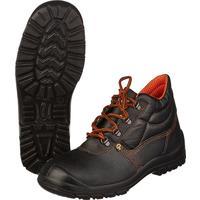 Ботинки Лига-эконом натуральная кожа черные с металлическим подноском размер 47