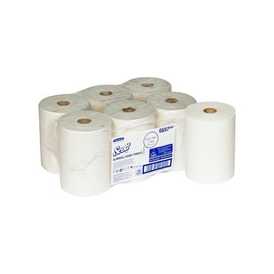 Полотенца бумажные в рулонах KIMBERLY-CLARK Scott Slimroll 1-слойные 6  рулонов по 190 метров (артикул производителя 6697)