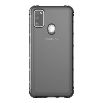 Чехол-накладка Araree M cover для Samsung Galaxy M21 черный (GP-FPM215KDABR)