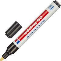 Маркер для стеклянных досок Edding E-90/001 черный (толщина линии 2-3 мм)