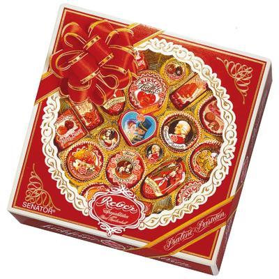 Шоколадные конфеты Reber Senator ассорти 830 г