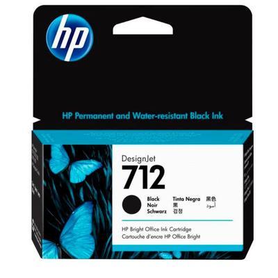 Картридж струйный HP 712 3ED70A черный оригинальный