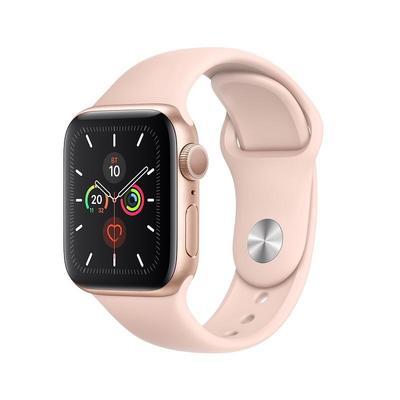 Смарт-часы Apple Watch Series 5 44 мм золотистые (MWV72RU/A)