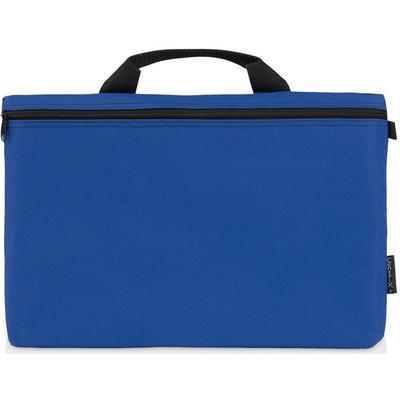 Конференц-сумка для документов Orlando полиэстер синяя (39x3.5x27 см)