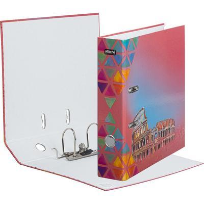 Папка-регистратор Attache Selection Travel Italy 75 мм разноцветная