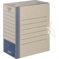 Короб архивный на 2-х завязках Attache 150 мм картон до 1500 листов синий