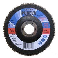 Круг лепестковый по стали 125 мм z40 Pureva 447343