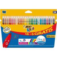 Фломастеры BIC Kid Couleur 24 цвета