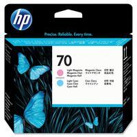 Головка печатающая HP 70 C9405A светло-пурпурная и светло-голубая оригинальная