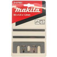 Нож для рубанка твердосплавный 82мм 2шт/уп Makita D-07951