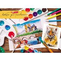 Альбом для рисования Проф-пресс Краски и кисти А4 40 листов