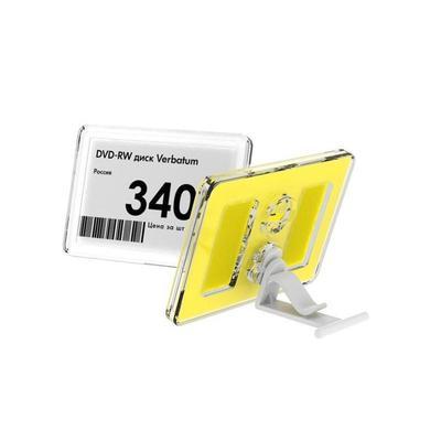 Рамка пластиковая Техно Мини формат А8 прозрачная (10 штук в упаковке)