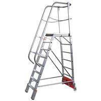 Лестница складная Vario Kompakt алюминиевая односекционная 13 ступеней   (833037)