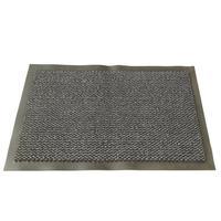 Коврик входной влаговпитывающий ворсовый износостойкий 90х150см серый