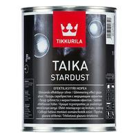Краска декоративная интерьерная Tikkurila Taika Stradust серебристая 1 л