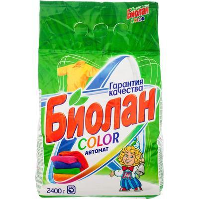Порошок стиральный автомат Биолан Color 2.4 кг