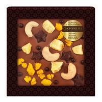 Шоколад подарочный Chokodelika молочный кешью/ананас/апельсин 75 г