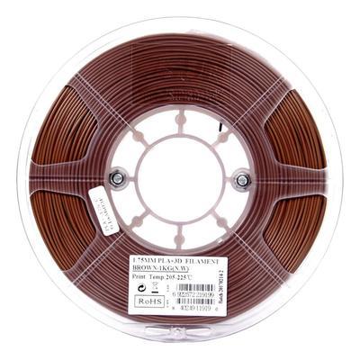 Пластик PLA+ для 3D-принтера ESUN коричневый 1,75 мм 1 кг