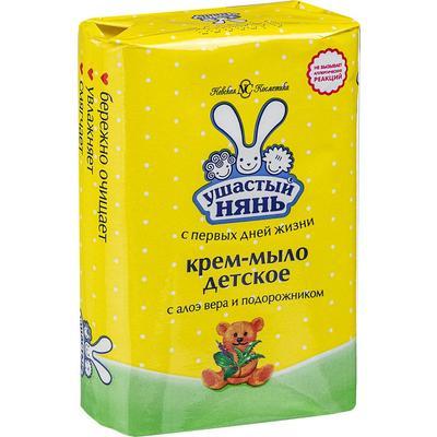Крем-мыло детское Ушастый нянь с алоэ 90 г