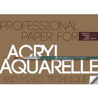 Бумага для акварели и акрила Bruno Visconti А4 10 листов