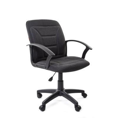 Кресло офисное Chairman 627 серое (ткань, пластик)
