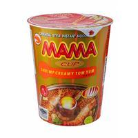 Лапша Мама тайская со вкусом кремовый Том Ям 70 г