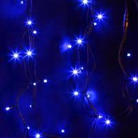 Гирлянда светодиодная уличная Neon-Night Дюраплей линия синий свет 200 светодиодов (20 м)
