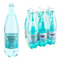 Вода минеральная Новотерская газированная 1.5 л (6 штук в упаковке)