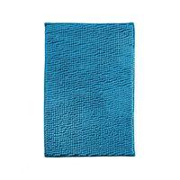 Коврик для ванной Chenille из микрофибры 40х60 см синий