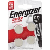Батарейки Energizer Lithium CR2032 (4 штуки в упаковке)