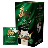 Чай Richard Royal Green Jasmine зеленый с жасмином 25 пакетиков