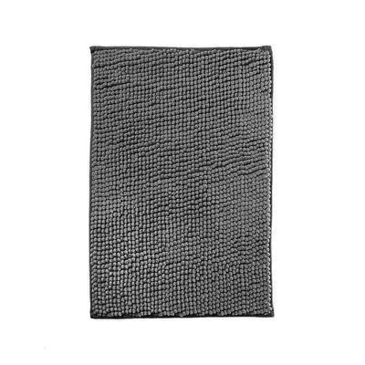 Коврик для ванной Chenille из микрофибры 40х60 см серый