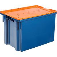 Ящик (лоток) универсальный из ПНД 600х400х400 мм оранжевый