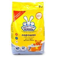 Порошок стиральный универсальный Ушастый Нянь 9 кг (для детского белья)