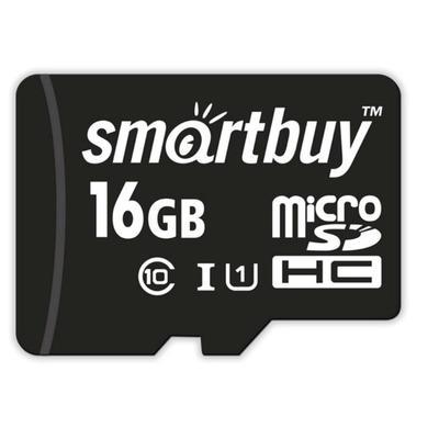 Карта памяти 16 ГБ microSDHC SmartBuy SB16GBSDCL10-01 Class 10