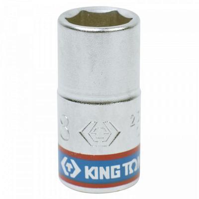 Головка торцевая King Tony шестигранная 1/4 дюйма 8 мм (233508M)