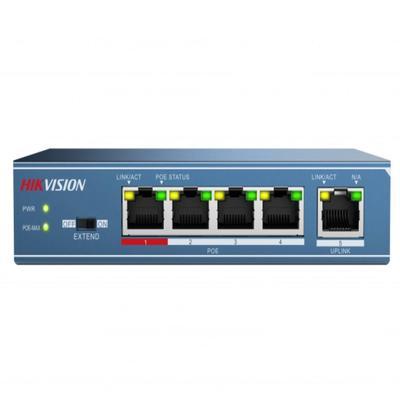 Коммутатор Hikvision DS-3E0105P-E