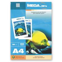 Фотобумага для цветной струйной печати ProMega jet односторонняя (матовая, А4, 90 г/кв.м, 100 листов)